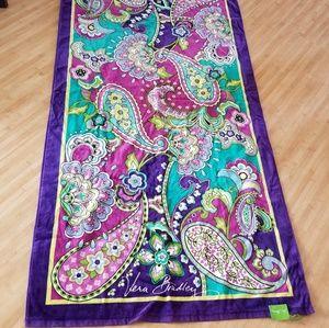Vera Bradley Paisley Print Towel NWT